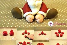 How to (Christmas themed clay tutorial)