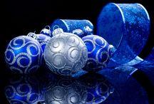Cobalt & Silver Christmas