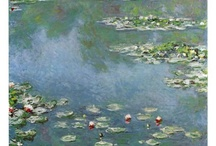 Impressionism Art Prints / The Impressionist art movement was named after Monet's famous painting, Impression Sunrise. Discover other impressionism art prints from artists such as Monet, Renoir, Degas and more.  / by Bandaged Ear