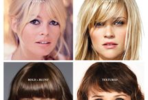 Bangs / by MOXI Salon & Spa