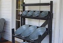 DIY veggie stands