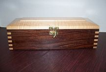 Wooden Keepsakes Box