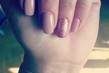 Semilac Pink Gold094 & Creamy Muffin136