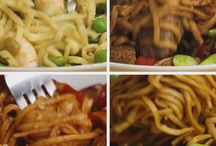 Noodle dishes