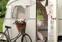 Caravans with bikes