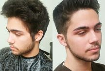 Men's Hairstyles done at Natural Solutions