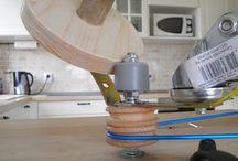 DIY Yarn Ball Spinner