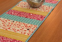Fabric table decor (cloths and runners)