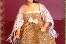 Miniature doll clothes