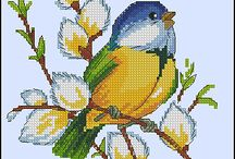 Bügelperlen Vögel