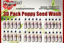 30 Pack Poppy Seed Wash