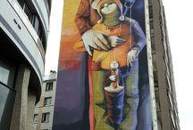 mural in paris