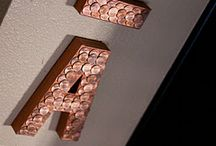 All about PENNIES / creative Idea uses for PENNIES! / by Angela Norton