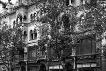 Budapest (Hungary) on old photos