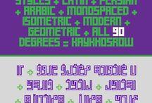 Font Bundles / I put my Latin and Persian / Arabic fonts here, in bundles! Enjoy :)