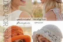 шляпы, шапки, шарфы.вязание