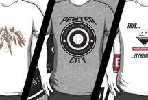 T-Shirt Designs / My various t-shirt designs via RedBubble.