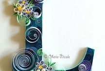 Quilled quilling