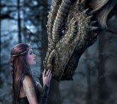 Fantasy art / by Bibi Birgit Clark Zimmermann