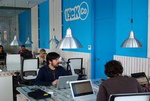 Coworkings Galicia / Coworkings y lugares de trabajo en Galicia.
