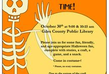 Giles County Public Library Originals / What we do at the library!