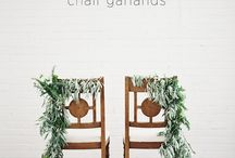 Украшение стульев