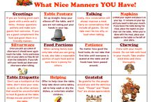 Etiquette & Manners