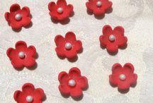 Gum Paste flowers etc