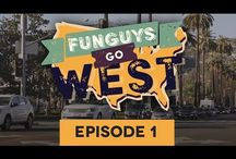 Funguys Go West / Mini Youtube Series /  This is the first episode of a mini YouTube series called Funguys Go West, where you can see the ups and downs of the life of 'shroompreneurs. In February 2015 a group of passionated Finns arrived to Southern California to launch their innovative mushroom products to Americans.The first episode is all about the everyday hustle and all hard work put to popularising these ancient superfood mushrooms.