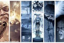Graphic Novel Terminal Dark / A sci fi thriller graphic novel