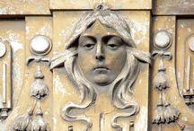 Temeswar Gebäude Details / Arhitektur Details in Temeswar