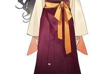 clothes & kimonos