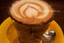 Tulip by that latte place / [Non-halal food]