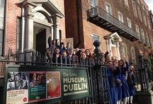 I Love Dublin Classes at The Little Museum of Dublin / I love Dublin classes are free to schoolchildren, courtesy of support from the Matheson Foundation. Classes are designed to fit with the school curriculum, as well as provide a fun and informative journey through the history of the city.