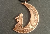 Coin necklaces