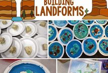 Landform Study Ideas and Activities / Study Ideas | Activities | Homeschooling | Educational | Landforms  | Printables | Learning | Unit Studies | Crafts