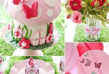 Girls Birthdays ideas / different stuff for the girls' bday parties