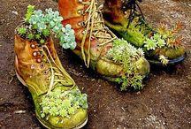 květináče boty