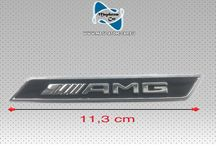 AMG Logo Schriftzug Emblem Kotflügel Seitenemblem Mercedes ML GLE W166 W205 GLE A2928173500