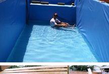 piscina aço