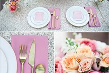Inspiration: Table Settings & Centerpieces / All things that make a table pretty