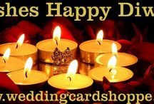 "TRIVENI CARDS WISHES - HAPPY DIWALI / TRIVENI CARDS WISHES - HAPPY DIWALI  http://weddingcardshoppe.com/Shopping-Cart.asp?CatId=2&Range=4  Diwali also called Divali, Deepavali or the ""festival of lights"", is a five-day Hindu festival which starts on Dhanteras, celebrated on the thirteenth lunar day of Krishna paksha (dark fortnight) of the Hindu calendar month Ashwin and ends on Bhaubeej, celebrated on the second lunar day of Shukla paksha of the Hindu calendar month Kartik"