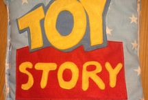 Toy Story Quiet Book / Toy story felt book