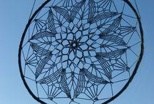 crochet window decorations, szydełko, ozdoby okienne / Przepiękne łapacze snów, ozdoby okienne