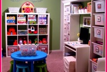 Homeschool: Spaces / Inspiration for your homeschool space.  These homeschool rooms, bookshelves, and baskets are sure to encourage you to make the best use of your space.      / by Kathy of Cornerstone Confessions