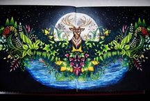 Enchanted Forest - Double Deer