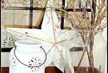 CMAS Decor ~ In White / White Christmas tree, white decor / by geemarge