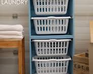 {organizing~laundry room}