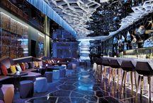 Bars, Cafés & Restaurants - Interiors / by Cláudia Domingos