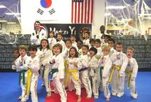 M.Y. Taekwondo supports breast cancer awareness!  / M.Y. Taekwondo supports our Taekwondo moms, girlfriends, daughtsers, wives and students! Our awesome students wear their pink, M.Y. Taekwondo ribbon on their doboks to show their support!